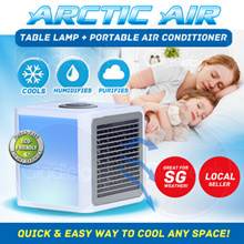 Arctic Air -Table Lamp/Personal Space Air Cooler/Portable Air Conditioner/Easy to useAir Con/Light