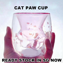 $17.90 EACH !!! STARBUCKS DESIGN! CAT PAW CUP ♦ SOLD OUT IN CHINA STARBUCKS ♦ LIMITED QUANTITY ONLY!