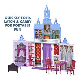Disney Frozen 2 Movie Fold and Go Arendelle Castle Portable Playset