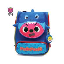 ★[PinkPong] Shark Hat Melody Lost Child Prevention Backpack★Kids Bag / Children / Baby / Missing Child