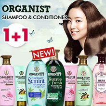 NEW FLAVOURS!!1+1♥Organist♥ Shampoo/Conditioner/Treatment/Argan/Cherry/HerbVinegar/Tea Tree/Rosemary