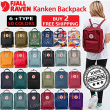 【BUY 2 FREE SHIPPING】100% AUTHENTIC★Fjallraven Kanken Backpack❤TRAVEL BAG❤Fast delivery ❤