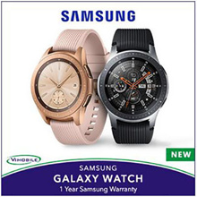 Ready Stock!! Samsung Galaxy Watch 42mm | 1 Year Samsung Warranty