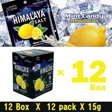 Himalaya Salt Sport Candy (Lemon) - Extra Cool  12 Box ( 1 Box = 12pack X 15g )  Wholesale Price