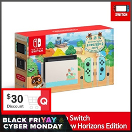 [Ready Stock] Nintendo Switch Animal Crossing Console Edition / Improved Battery