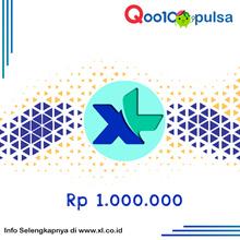Pulsa Axiata XL Rp. 1.000.000