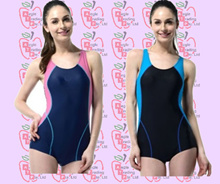 Korean Pro one Piece Women/Ladies/Swimwear/Swimming Suit/Swimming Wear