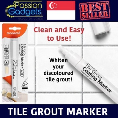 LOCAL KOREA MONAMI Tile Grout Marker  Non Toxic  Line Reform Coated. Qoo10   LOCAL KOREA MONAMI Tile Grout Marker  Non Toxic  Line