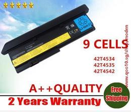 batterie pour LENOVO ThinkPad X200 X201 X200S X201S 42T4834 42T4835 43R9254 ASM 42T4537 FRU 42T4536 42T4538 9cells