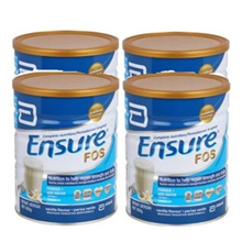 Ensure FOS Complete Nutrition Vanilla 850g x 4 tins