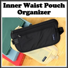 Inner Waist Pouch Organizer | Multi Function Travel Pouch | Travel Waist Belt | Bag In Bag