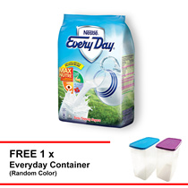 Nestle Everyday Milk Powder 1kg Free 1 container