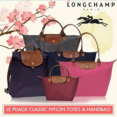 b7976f6c5ca2 Qoo10 -  Official thatbagiwant.com  Longchamp Le Pliage Classic Nylon and Le  P...   Bag   Wallet