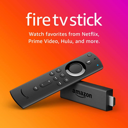 Amazon 4K Fire TV Stick with Alexa Voice Remote   Streaming Media Player