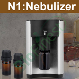 ★N1 Ultrasonic Aroma Nebulizer ★Super Quiet ★ Adjustable Timer and Mist Auto Off