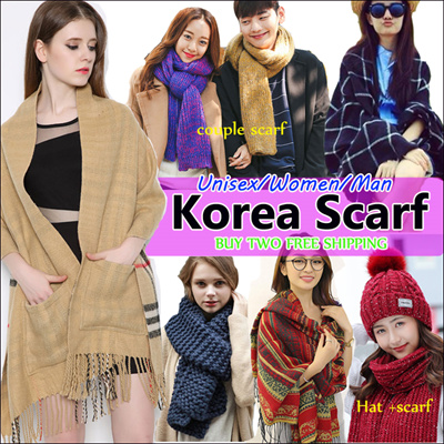 COUPON · Unisex Winter Trendy Scarf   Thick   High Quality Long Big Shawl    Scarves Multi 9f6df8f43728