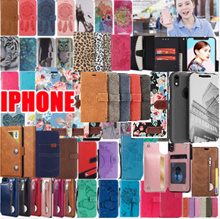 iPhone X XR XS XS MAX 8 7 6 6S Plus wallet leather case