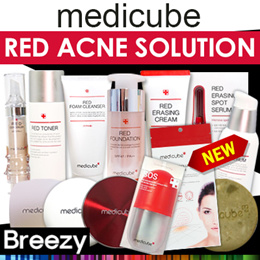 [BREEZY]★[Medicube] Whole Series ♥ Red Line Korea No.1 Skin Care ♥ Premium Acne Solution ♥