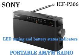 Sony Portable Radio ICF-P306