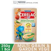 NESTLE CERELAC Multi Grain  Garden Vege Infant Cereal Box Pack 250g