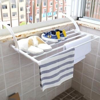 Phlogistic Yu Retractable Balcony Indoor Outdoor Drying Racks Drying Rack  Multi Towel Rack 40 70cm