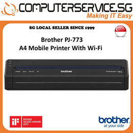Brother PJ-663 PocketJet A4 Mobile Printer with Bluetooth Technology