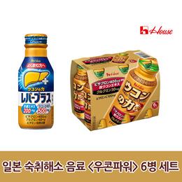 숙취해소 음료 우콘파워 6병 세트 / 우콘노치카라 / 카시스오렌지 6병 / 과립형 10포 30포