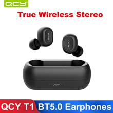 QCY T1 TWS Headset Wireless Bluetooth 5.0 Earphones for Xiaomi iphone se samsung like apple airpods