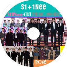 【K-POP DVD】 ☆ ★ SHINee 2016 MUSIC AWARD CUT ☆ Gaon Melon MAMA KBS MBC Seoul Awards and others 【SHINee Shiny】