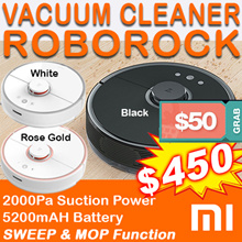 ※RDY STOCK❤LOWEST❤ Xiaomi Roborock Vacuum Cleaner Gen 2 mop function★1 YEAR WARRANTY★ 3 COLOR