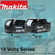 Makita 18 Volts LXT Lithium-ion Battery (3.0Ah and 5.0Ah)