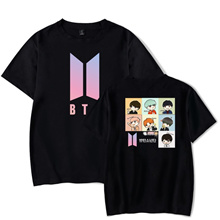 Kpop BTS T-shirt Bangtan Boys T-shirt Casual Top