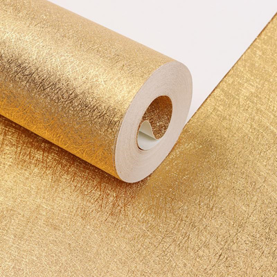 Luxury Gold Foil Embossed Feature 3d Textured Pattern Wallpaer Rolls Background