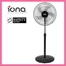 Iona GLSF165 16 inch stand fan