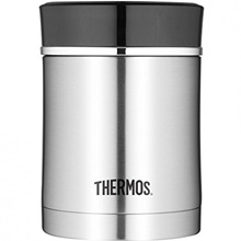 Thermos 10 oz 16 oz Sipp Vacuum Insulated Stainless Steel Food Jar - Black