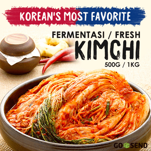 Kimchi Original Korea Fermentasi Or Fresh / pilih option Deals for only Rp27.450 instead of Rp30.500