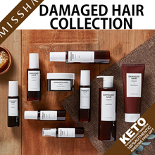 [missha]damaged hair therapy collection/shampoo/night essence/lotion/oil/mist/treatment/steam mask