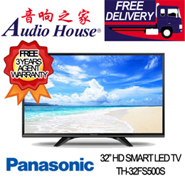 PANASONIC TH-32FS500S 32 HD SMART LED TV ***3 YEAR PANASONIC WARRANTY***
