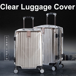 Luggage Cover Protector Clear PVC Waterproof Anti-scratch Suitcase 18 20 22 24 26 28 30 inch