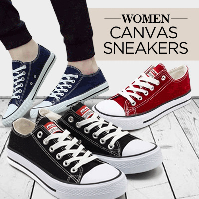 Women Sneaker Canvas Shoes Collection Deals for only Rp130.000 instead of Rp130.000