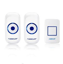 【Forecum 8 Smart Wireless Doorbell Waterproof】DC Door Bell 36 Chimes 100m Range /Wireless Receiver Remote Control 200M Waterproof Doorbell with One Receivers for Home Office