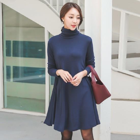 オッドであって、ルック・ポーラ・フレアワンピースDRH423 スーツワンピース/ 韓国ファッション