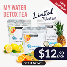 DETOX TEA! 🍊Korea FRUIT WATER🍋 Proven to help you drink more water everyday!! Tea + Fruit Slices!