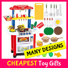 [CHEAPEST]★1-7y★Kitchen Toy Cooking Chef★Supermarket Trolley★Transformers★Kids Birthday Xmas Gift