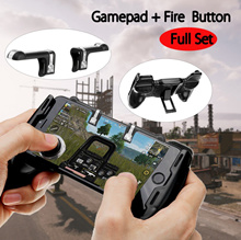 Gaming Joystick Handle Holder Shooter Controller /L1R1 Sharpshooter Gaming Trigger Fire Button PUBG