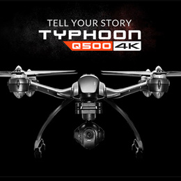 Yuneec Typhoon H RC Drone with Camera HD 4K RTF RC Helicopter Auto Avoid obstacles 3 Aixs 360 Gimbal