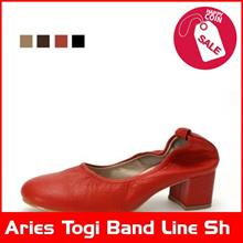 Aries Togi Band Line Shoen 1249 High Heels / Pumps/ Korean fashion