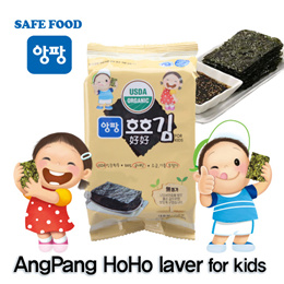 [AngPang]★HoHo laver★ Roasted dried laver/seaweed/laver/korea/side dish/riceball/snack/beer/korea premium sea food/SBA_079