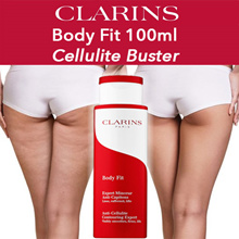 Bust your Celluite! Clarins Body FIt 100ml