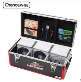 Creative CD box DVD storage disc box large capacity CD box disc box car CD disc storage box